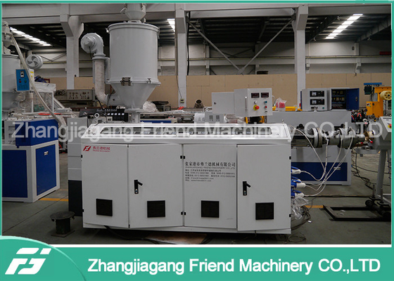 250MM Pe Pvc Hdpe Plastic Pipe Extrusion Machine 100-250kg/H Capacity