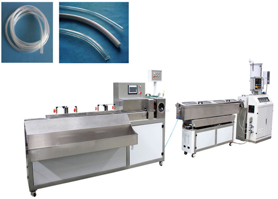 Medical Application Plastic Pipe Production Machine , Pipe Processing Machines