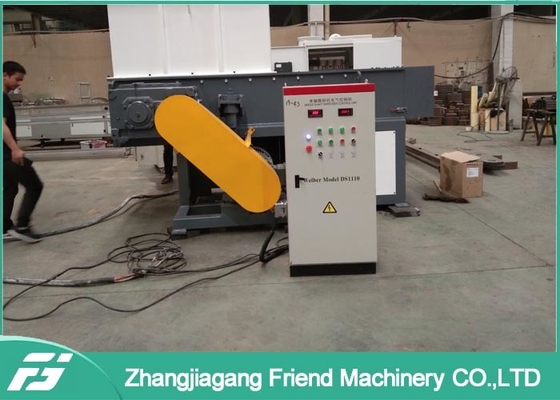 CE Single Screw Plastic Crusher Shredder Machine Recycling Waste Plastic